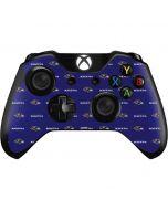 Baltimore Ravens Blitz Series Xbox One Controller Skin
