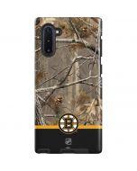 Realtree Camo Boston Bruins Galaxy Note 10 Pro Case