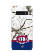 Realtree Camo Montreal Canadiens Galaxy S10 Plus Lite Case