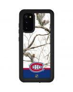 Realtree Camo Montreal Canadiens Galaxy S20 Waterproof Case