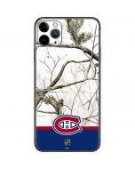 Realtree Camo Montreal Canadiens iPhone 11 Pro Max Skin