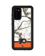 Realtree Camo Philadelphia Flyers Galaxy S20 Waterproof Case