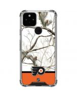 Realtree Camo Philadelphia Flyers Google Pixel 5 Clear Case