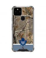 Realtree Camo Toronto Maple Leafs Google Pixel 5 Clear Case