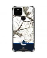 Realtree Camo Vancouver Canucks Google Pixel 5 Clear Case