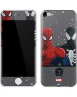 Red and Black Spider-Man Apple iPod Skin