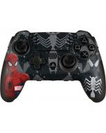 Red and Black Spider-Man PlayStation Scuf Vantage 2 Controller Skin