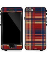 Red and Blue Plaid LifeProof Nuud iPhone Skin