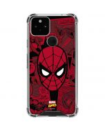 Red Spider-Man Comics Google Pixel 5 Clear Case