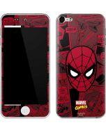 Red Spider-Man Comics Apple iPod Skin