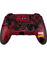 Red Spider-Man Comics PlayStation Scuf Vantage 2 Controller Skin