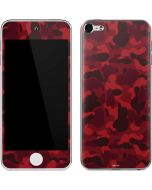 Red Street Camo Apple iPod Skin