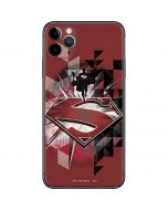 Red Superman Pattern iPhone 11 Pro Max Skin