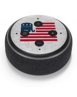Republican American Flag Amazon Echo Dot Skin