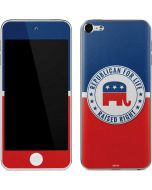 Republican For Life Apple iPod Skin