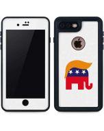 Republican Trump Hair iPhone 8 Plus Waterproof Case