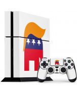 Republican Trump Hair PS4 Console and Controller Bundle Skin