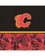 Calgary Flames Retro Tropical Print HP Envy Skin