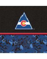 Colorado Avalanche Retro Tropical Print Dell XPS Skin