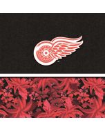 Detroit Red Wings Retro Tropical Print Amazon Echo Skin