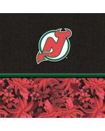 New Jersey Devils Retro Tropical Print Yoga 910 2-in-1 14in Touch-Screen Skin