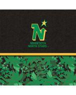 Minnesota North Stars Retro Tropical Print Amazon Echo Skin