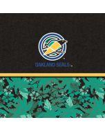 Oakland Seals Retro Tropical Print Apple iPad Skin