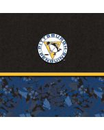 Pittsburgh Penguins Retro Tropical Print HP Chromebook Skin
