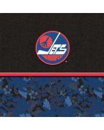 Winnipeg Jets Retro Tropical Print Amazon Echo Skin