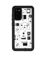 Retro Gaming Controllers Galaxy S20 Waterproof Case