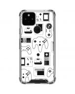 Retro Gaming Controllers Google Pixel 5 Clear Case