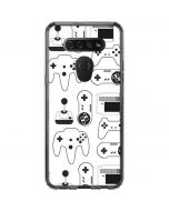 Retro Gaming Controllers LG K51/Q51 Clear Case
