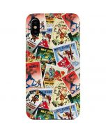 Retro Goofy Stamps iPhone XS Max Lite Case
