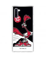 Retro Road Runner Galaxy Note 10 Clear Case