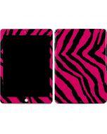 Retro Zebra Apple iPad Skin