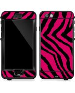 Retro Zebra LifeProof Nuud iPhone Skin