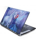Rhiannon Fairy and Unicorn Generic Laptop Skin