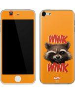 Rocket Raccoon Apple iPod Skin
