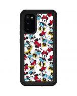 Rockin Minnie Mouse Galaxy S20 Waterproof Case