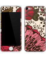 Rose Bud Floral Apple iPod Skin