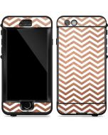 Rose Gold Chevron LifeProof Nuud iPhone Skin
