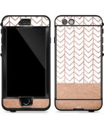 Rose Gold Herringbone LifeProof Nuud iPhone Skin