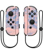 Rose Quartz & Serenity Floral Nintendo Joy-Con (L/R) Controller Skin