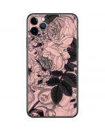 Rose Quartz Floral iPhone 11 Pro Max Skin