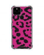 Rosy Leopard Google Pixel 5 Clear Case