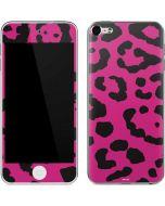 Rosy Leopard Apple iPod Skin