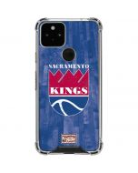 Sacramento Kings Hardwood Classics Google Pixel 5 Clear Case