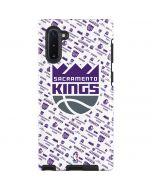 Sacramento Kings History Logo Blast Galaxy Note 10 Pro Case