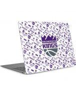 Sacramento Kings History Logo Blast Apple MacBook Air Skin