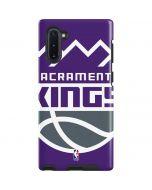 Sacramento Kings Large Logo Galaxy Note 10 Pro Case